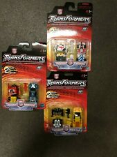 2001 Hasbro Transformers: Robots in Disguise 2 pack figurines lot of 3 NEW