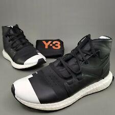 adidas Mens Y-3 Kozoko High Athletic Shoes Size 8 Running Black White Yamamoto