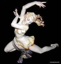 Hutschenreuther Rosenthal Colored Version Art Deco Dancer Figurine w/ Eyes Open
