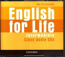 Oxford ENGLISH FOR LIFE Intermediate CLASS AUDIO CDs / Tom Hutchinson @NEW@