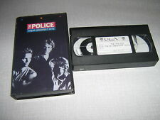 THE POLICE K7 VIDEO PAL THEIR GREATEST HITS