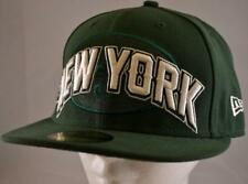 New Era 59fifty New York Jets,Hat, Cap, NWT,7-1/8,NFL,Flat Bill,Jets Logo,Green