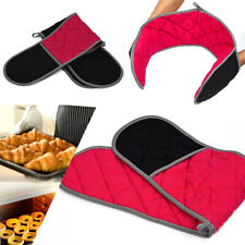 Thick Double Oven Gloves Kitchen Cooking Pot Holder Heat Resistant Mitts Durable
