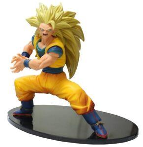 DRAGONBALL Figura Statua 16cm SON GOKU Super Saiyan 3 FES Volume 4 BANPRESTO
