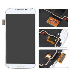 White For Samsung Galaxy S4 i545 L720 R970 LCD Digitizer Screen Replace Frame ^^