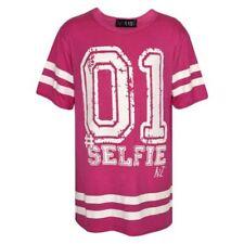 Camisas de niño de 2 a 16 años de color principal rosa
