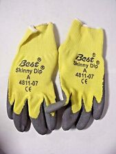 Best SHOWA Skinny Dip Aramid Gloves 4811-07 - Size Small (12 Pairs)