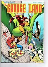The Savage Land ~ 1st Print Trade Paperback  ~ Near Mint or better ~ Marvel 1987