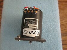 Narda Modelo: Sem133dt RF Coaxial Interruptor<