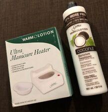 Warmolotion Ultra Manicure Heater & Gena Coconut Manicure Treatment 20 Oz