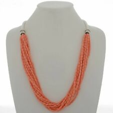 Ten Strand Necklace Angelskin Coral Heishi Beads