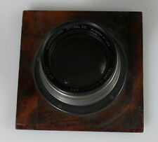 TESSAR 1C BAUSCH AND LOMB 305MM 5 4.5 LENS WITH MOUNTING BOARD