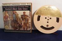 Stan Kenton's West Side Story, Capitol ZT 1609, 4 track 7.5 IPS Reel To Reel