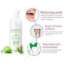 Foam Toothpaste Cleaning Whitening Mouth Wash Teeth Hygiene Removes Oral R7V6