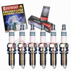 6 pc Denso Iridium Power Spark Plugs for 2006-2011 Mercedes-Benz E350 3.5L wa