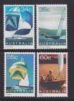 Australia 1981 : Yachting in Australia, set of 4 Decimal Stamps, MNH