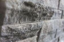 Carrara Grey & White Feature Wall Split Face sample