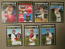 ST. LOUIS CARDINALS 2020 Topps Heritage Lot of 7 cards- MOLINA, BADER - NM