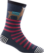 6037 Denim DARN TOUGH Crew Light Womens Socks S M L MERINO Wool Animal Haus