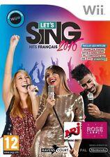 LET'S SING HIT 2016 Français  JEU Wii NEUF