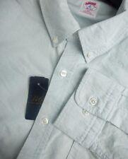 Brooks Brothers Oxford BD Collar Shirt ~ NWOT - Slim Fit ~ USA Medium - New