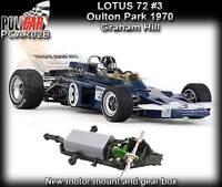 Policar CAR02B Lotus 72 Oulton Park 1970 - suits Scalextric slot car track