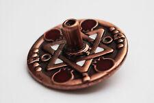 Hanukkah Metal DREiDEL Copper Large Hanuka Sevivon Spinning Top