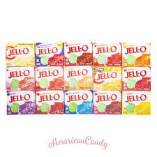 6x Jell-o gelatin postre pudding & gelatina EE. UU. (17 variedades libre elección)