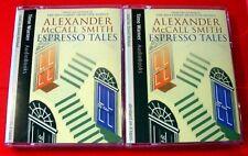 Alexander McCall Smith Espresso Tales 4-Tape Audio Book David Rintoul