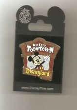DLR Mickey Toontown Pin