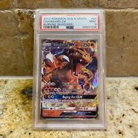 PSA 9 - 2017 Pokemon Sun & Moon Burning Shadows Charizard GX 20/147 (49601036)