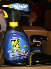 Raid Max Bug Barrier Defense System 30 fl oz Spray For In/Outdoor Use New