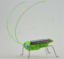Fun Solar Power PVC Cockroach Insect Locust Grasshopper Toys