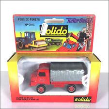 Camions miniatures Solido Simca