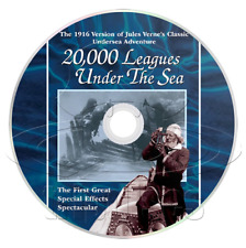 20,000 Leagues Under the Sea (1916) Action, Adventure, Sci-FI Movie/Film on DVD