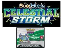 50x CELESTIAL STORM Pokemon Trading Card Game Online Booster Code EMAILED FAST!!