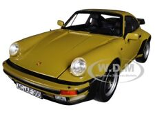 1977 PORSCHE 911 TURBO 3.3 OLIVE GREEN 1/18 DIECAST MODEL BY NOREV 187575