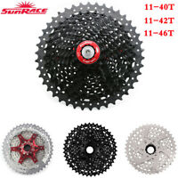 SunRace 8/9/10/11 Speed MTB Bike Cassette fit Shimano SRAM Mountain Freewheel