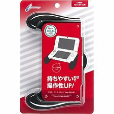 CYBER · rubber-coated grip (New for 3DS LL) Black Japan NEW