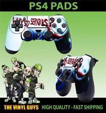 Cover e adesivi brillanti multicolori per videogiochi e console sony playstation 4