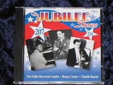 Benny Carter & Nat King Cole CD Jubilee Shows Vol. 3: Nos. 207 & 214   MINT