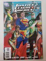 JUSTICE LEAGUE OF AMERICA #12 (2007) DC COMICS 1ST PRINT! ALEX ROSS COVER NM