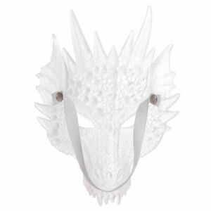Halloween Mask Translucent Dragon Mask   Halloween Playing Props