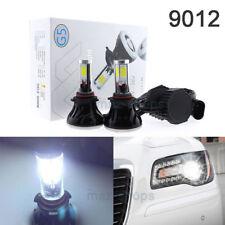 2Pcs 6000k Bright White 9012 LED Headlight Bulbs Lamp For 2011-2014 Chrysler 300