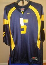 West Virginia Mountaineers NCAA Nike Classic Blue #5 XL Football Jersey