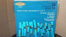 BACH - SUITES POUR ORCHESTRE N°2&4 PRO ARTE MUNICH REDEL LP VINYL EX/EX 836803