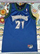03726c62257a Kevin Garnett Minnesota Timberwolves Nike Swingman Basketball Jersey Youth  Sz M