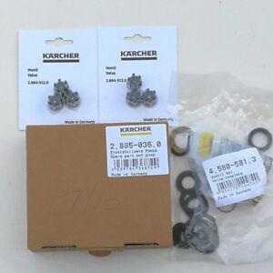 Karcher HDS 7/10 7/12 Pressure Washer Valve Pump Complete Set 2.885-036.0