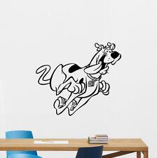 Scooby-Doo Wall Decal Cartoon Dog Vinyl Sticker Kids Poster Nursery Decor 232zzz