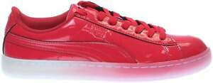 Puma Basket Patent Ice Fade  Mens  Sneakers Shoes Casual   - Red